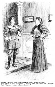Gertrude and Jessie, Punch, 1895