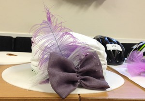 Hat for the Bikes and Bonnets ride