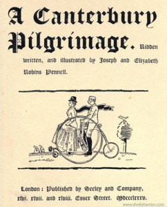 A Canterbury Pilgrimage Title Page