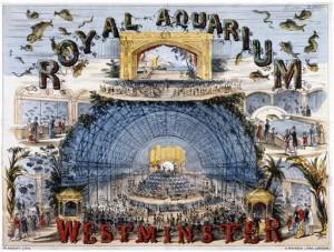 The Royal Aquarium Poster