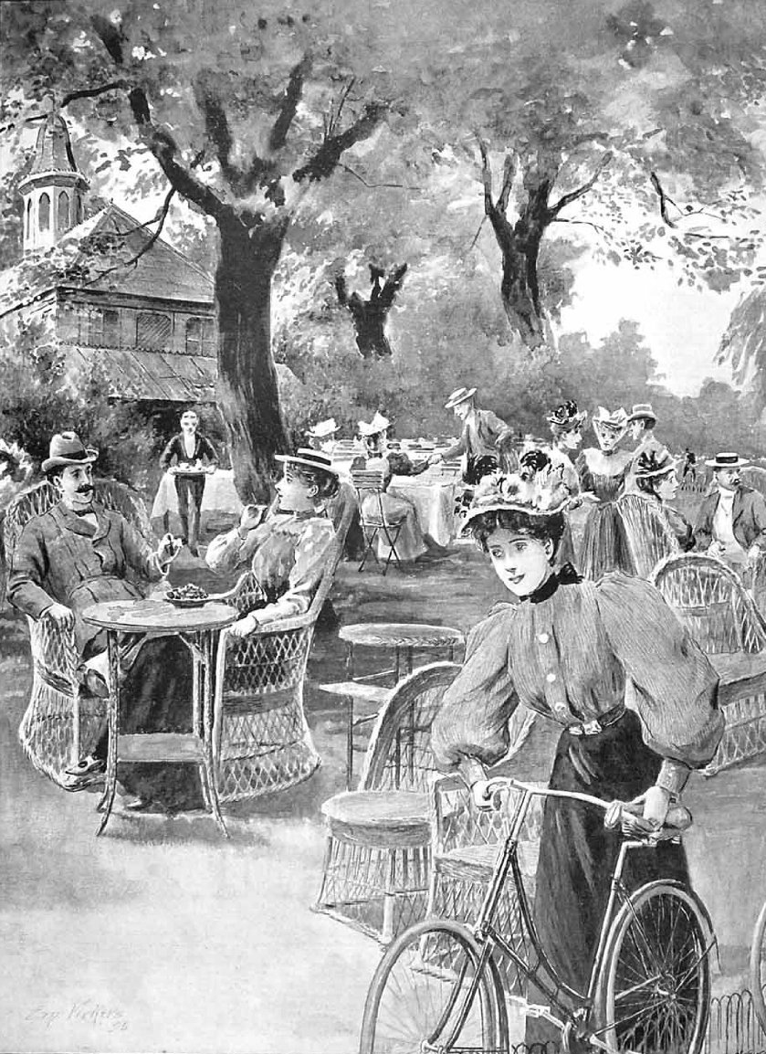 Tea & cycling in the 1890s