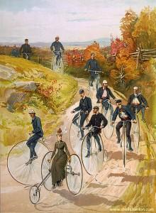 www.sheilahanlon.com_Bicycling, Hy Sandham, 1887