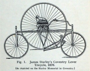 Coventry Lever Tricycle