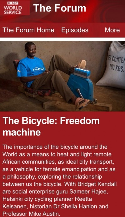 The Bicycle: Freedom Machine