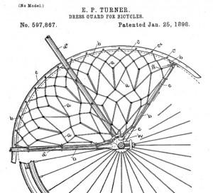 Dress Guard Patent 1898