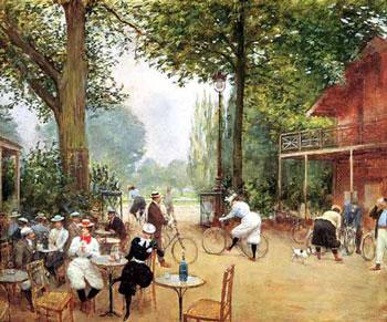 Jean_beraud_cyclists_1899