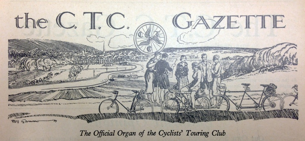 CTC Gazette Masthead, Stancer and RG Shaw