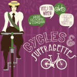 Alice Hawkins Cycles and Suffragettes