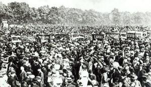 WSPU Hyde Park June 1908